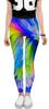 "Леггинсы ""Abstract Rainbow"" - радуга, цвета, краски, абстракция"