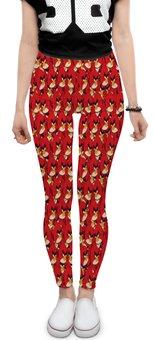 """Леггинсы """"Angry Birds"""" - птицы, птички, мульт, angry birds, энгри бёрдз"""