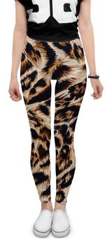 """Леггинсы """"Леопард"""" - кошка, леопард, лео, окрас"""