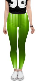 """Леггинсы """"Зелёный фон"""" - зелёный, дизайн, графика, китайские фонарики"""