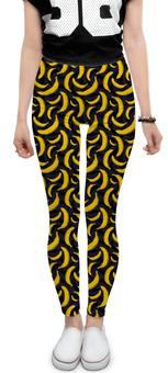 "Леггинсы ""Бананы"" - бананы, обезьяна, banan, barcelona, hipster"