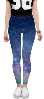 """Леггинсы """"Млечный путь"""" - звезды, небо, млечный путь"""