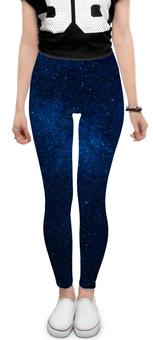 """Леггинсы """"Звездное небо"""" - звезды, космос, небо"""