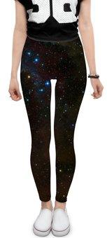 """Леггинсы """"Темный космос"""" - планеты, мир, звезды, космос"""