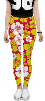 """Леггинсы """"Цветочные"""" - цветы, стиль, рисунок, цветочный, цзор"""
