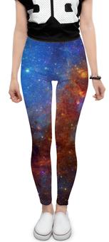 """Леггинсы """"Космос"""" - space, космос, дизайн, фотография, вселенная"""