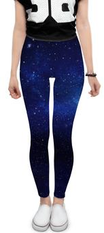 """Леггинсы """"The Spaceway"""" - звезды, космос, вселенная, одежда космос"""