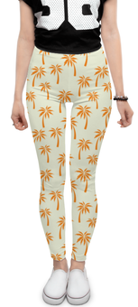 """Леггинсы """"Пальмы"""" - пальмы, дерево, африка, арт, стиль"""