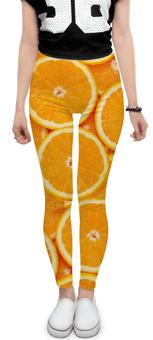 "Леггинсы ""ORANGE"" - фрукты, orange"