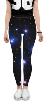 """Леггинсы """"Космос (space)"""" - space, звезды, космос, вселенная, галактика"""
