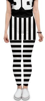 """Леггинсы """"ченая и белая полоски.зебра.тельняшка"""" - черно-белый, цветные полоски, зебра"""