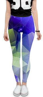 """Леггинсы """"Космический треугольник"""" - арт, космос, дизайн, треугольник, абстракция"""