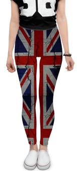 "Леггинсы ""Британский флаг"" - стиль, лондон, флаг, великобритания, британский флаг"