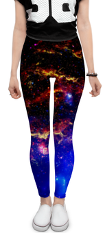 """Леггинсы """"Космические сны"""" - космос, космический, звезды, вселенная, thespaceway"""