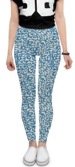 "Леггинсы ""Zet Abstract"" - fashion, pattern, seamless, ethnicity, computer graphic"