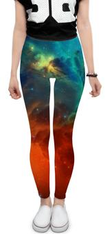 """Леггинсы """"Космическая туманность"""" - космос, фотография, звёзды, спутник, туманность"""