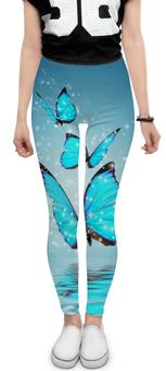 "Леггинсы ""Бабочки"" - бабочки"