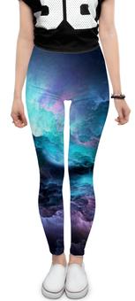 """Леггинсы """"Космос"""" - разноцветное, сияние, завораживающее"""