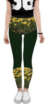 """Леггинсы """"Солнечный тюльпан."""" - цветы, тюльпаны, тюльпан, солнечное настроение, поле тюльпанов"""