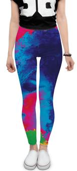 """Леггинсы """"RAINBOW GIRL"""" - арт, стиль, дизайн, графика, абстракция"""