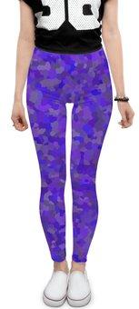 """Леггинсы """"Glowing purple"""" - party, цвет, вечеринка, цветной, на вечеринку"""