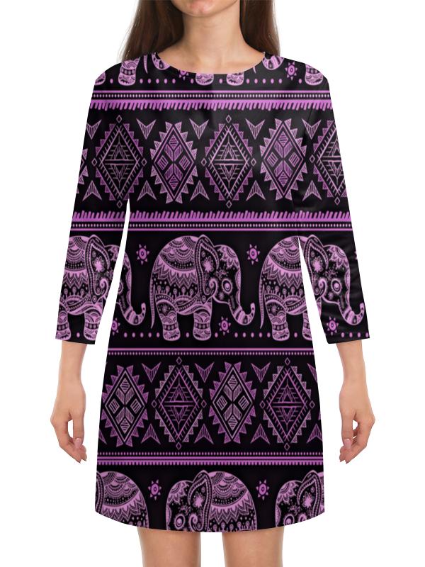 Платье с рукавами Printio Индия