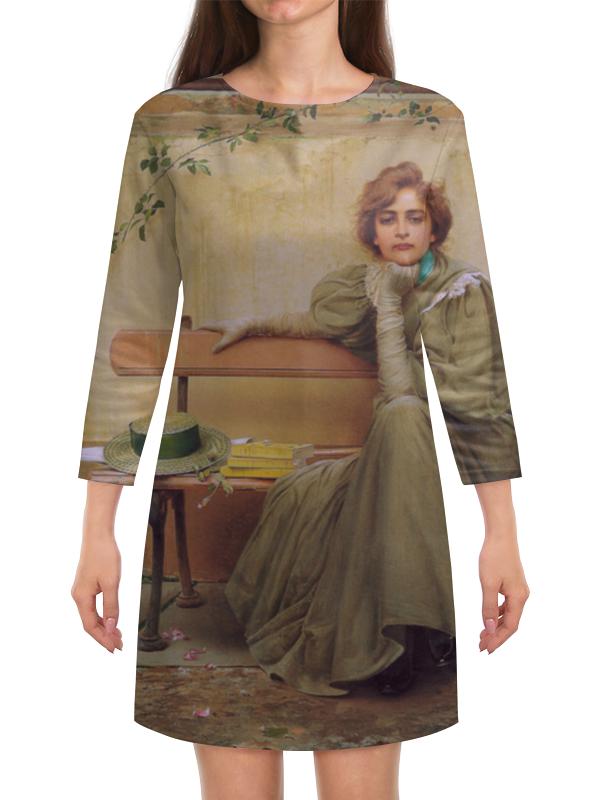 Платье с рукавами Printio Мечты (витторио коркос) чехол для iphone 7 глянцевый printio мечты витторио коркос