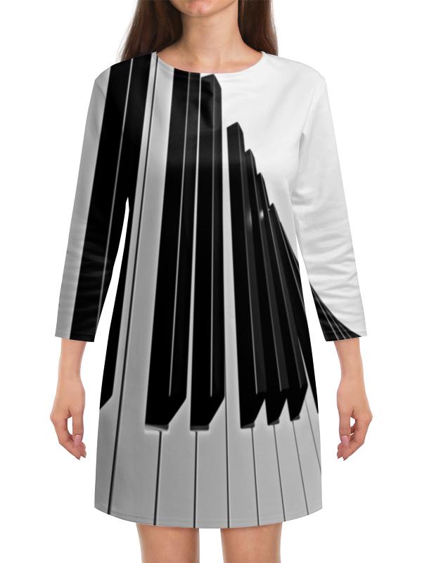 Платье с рукавами Printio Музыка