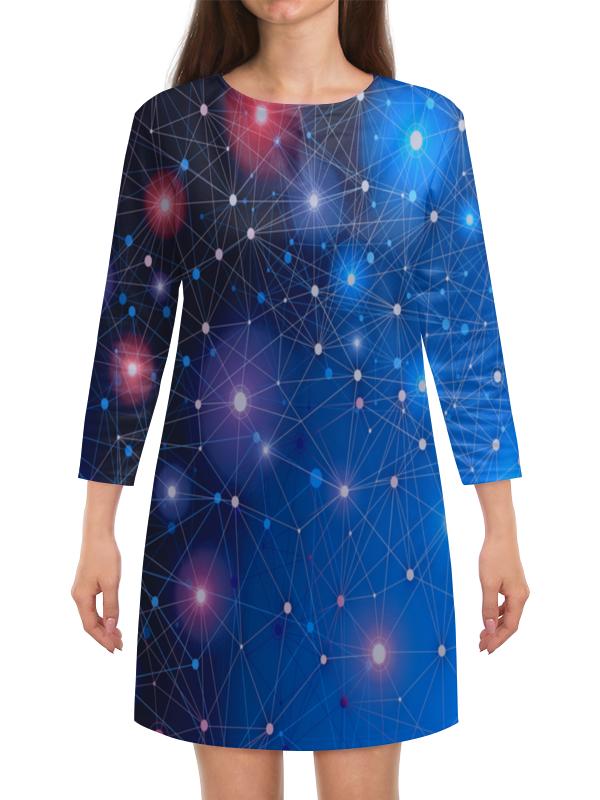 Платье с рукавами Printio Звезды атакама атакама звезды