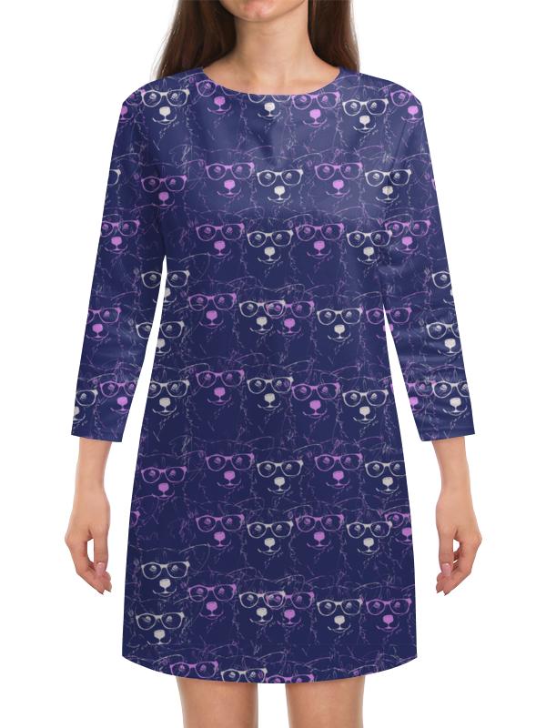 Платье с рукавами Printio Ночное небо фаворит ночное небо 17 ft 4012