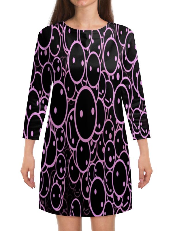 Платье с рукавами Printio Круги ведьмины круги прощай офелия