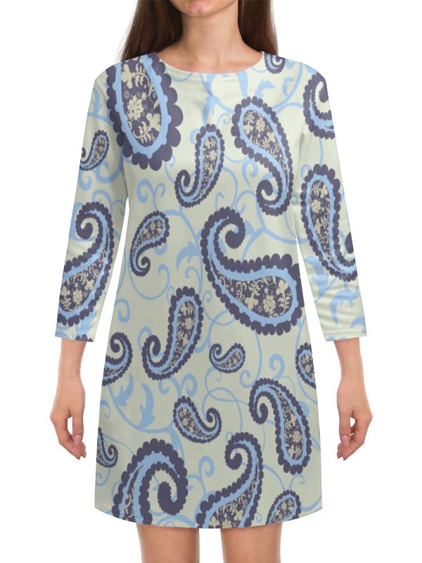 Платье с рукавами Printio Огурцы огурцы меленъ бочковые