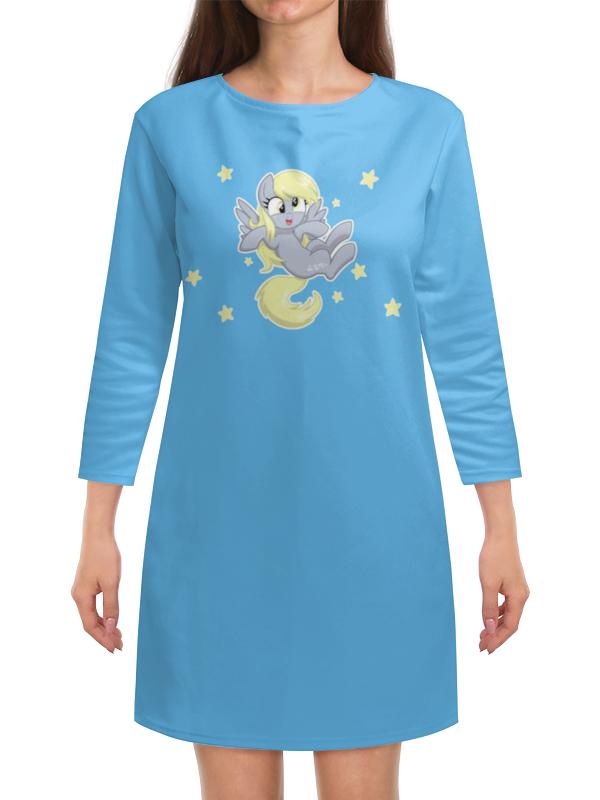 Платье с рукавами Printio My little pony (derpy) футболка wearcraft premium printio my little pony дёрпи derpy