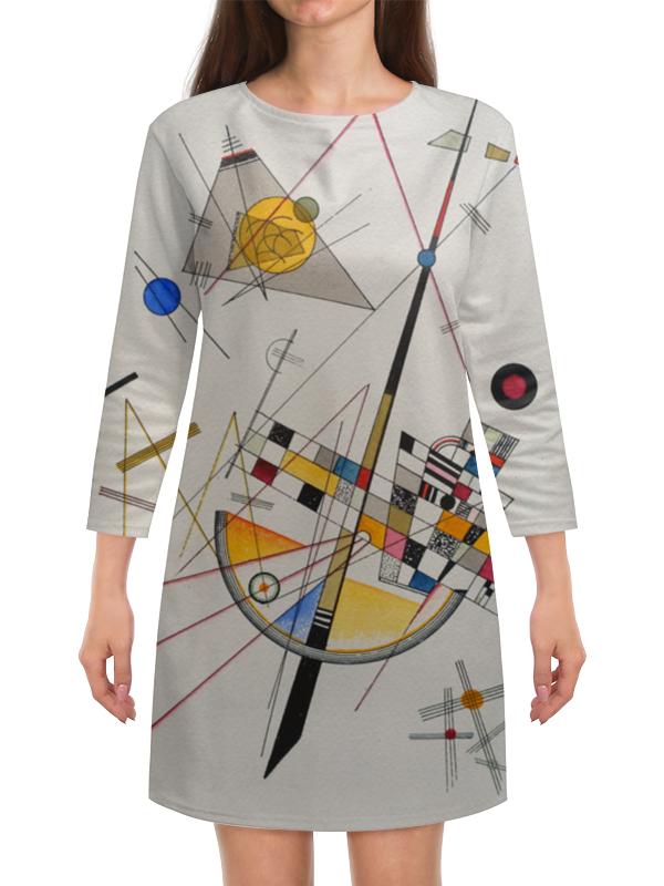 Платье с рукавами Printio Тонкое напряжение (василий кандинский) кандинский блокнот