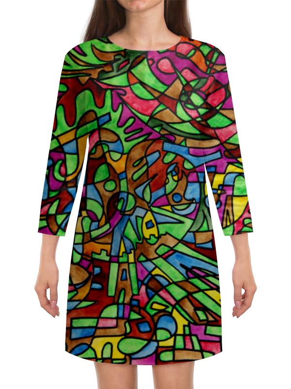 Платье с рукавами Printio S`s`s-0.w lacywear платье s 261 foy