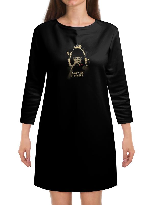 Платье с рукавами Printio Pulp fiction (ума турман) все цены