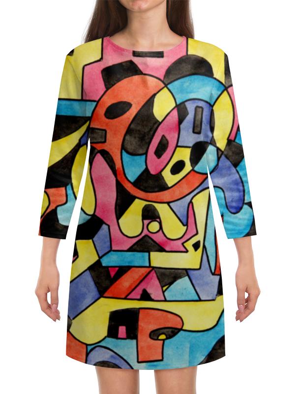 Платье с рукавами Printio Ttt`12ll палатка tepee тотеm 2 цвет зеленый ttt 003 09