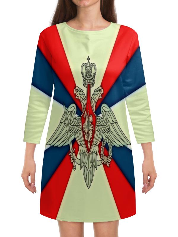 Платье с рукавами Printio Герб рф