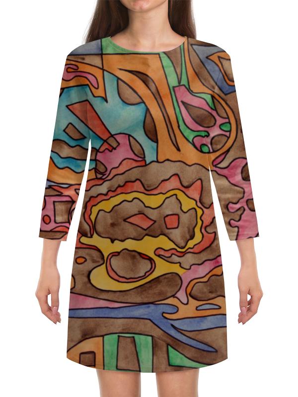Платье с рукавами Printio R1azq00