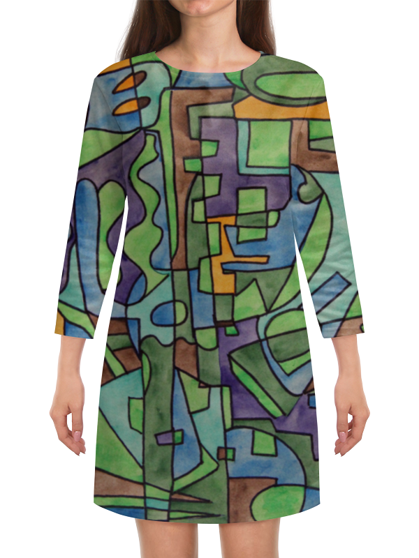 Платье с рукавами Printio W`zzzzcx`90.1