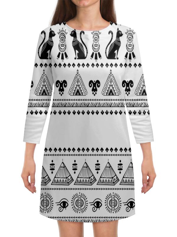 Платье с рукавами Printio Египет египет путеводитель выпуск 328