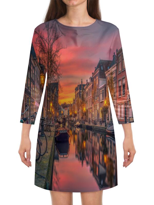 Платье с рукавами Printio Венеция венеция сб 1279 комод
