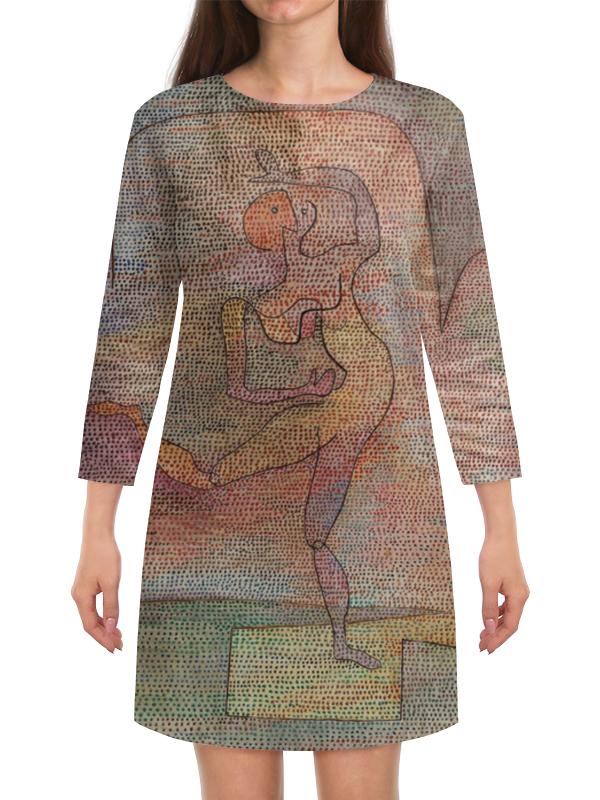 Платье с рукавами Printio Танцовщица (пауль клее)