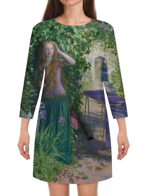 Платье с рукавами Printio Ярмарка розамунда (артур хьюз) артур конан дойл тайна клумбера
