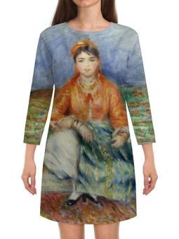 """Платье с рукавами """"Алжирская девушка (картина Ренуара)"""" - картина, ренуар"""