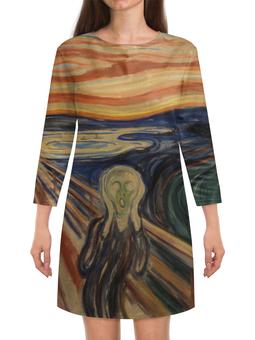 "Платье с рукавами ""Крик (картина Мунка)"" - картина, мунк, живопись, мистика"