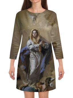 """Платье с рукавами """"Непорочное зачатие Девы Марии (Тьеполо)"""" - картина, тьеполо, живопись"""