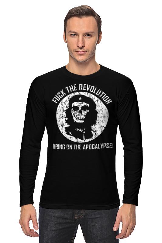 Лонгслив Printio Che guevara skull цена и фото