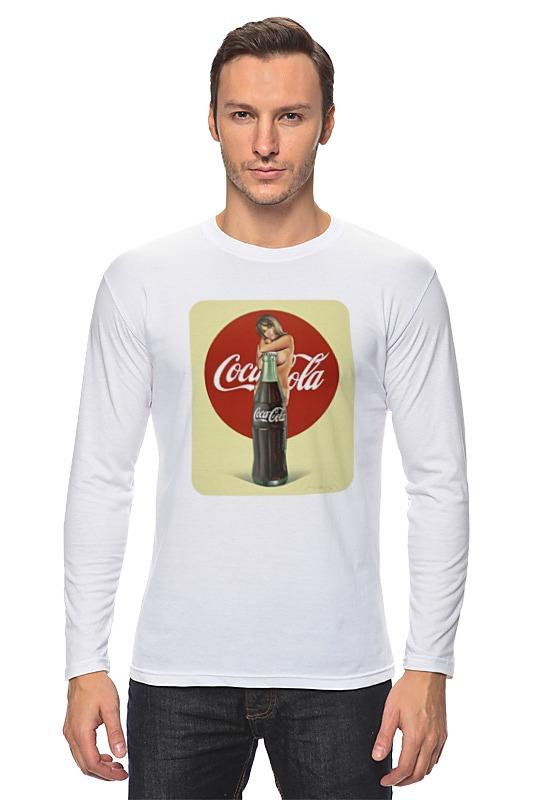 Лонгслив Printio Coca-cola цена