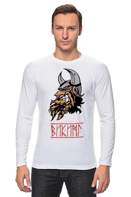 Лонгслив Printio Суровый викинг футболка викинг